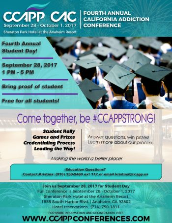 Fourth Annual CCAPP Student Day
